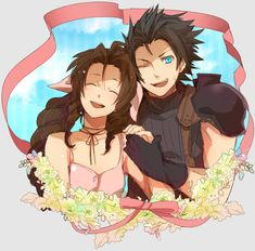 Image shared by PlasticStarEater. Find images and videos about zack fair and aerith on We Heart It - the app to get lost in what you love.