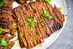 Authentic Carne Asada ( Easy & Delicious) » Kay's Clean Eats Carne Asada Grilled, Carne Asada Marinade, Pellet Grill Recipes, Beef Recipes, Cooking Recipes, Jerky Recipes, Cooking Tips, Authentic Carne Asada Recipe, Beef Flank Steak