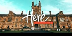 University of Sydney – Project Here | The Webby Awards