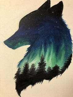 Pin by ny' on art in 2019 art dessin, loup dessin, art fantastiq Cute Drawings, Animal Drawings, Drawings Of Wolves, Cool Wolf Drawings, Wolf Drawing Easy, Earth Drawings, Random Drawings, Awesome Drawings, Fantasy Kunst
