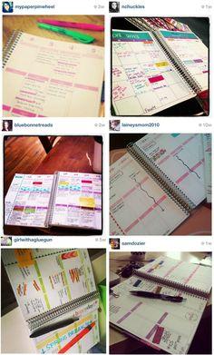 Erin Condren Life Planner Inspiration