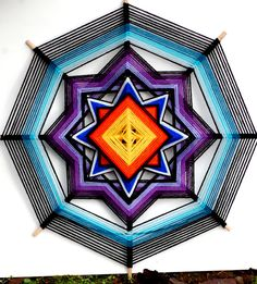 The weaving of an Ojo de Dios is an ancient contemplative and spiritual practice. In many of the Pueblos of New Mexico (U.S.) Ojos de Dios have