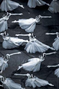 Dancers of the Mikhailovsky Ballet in Giselle. Photo (c) Nikolay Krusser.