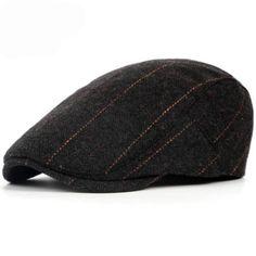 5c6d39747aa AERLXEMRBRAE British Western Style Wool Beret Cap