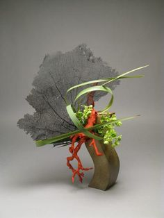 Seafan ikebana by Gordon Ward