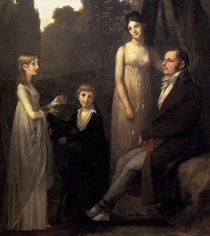 Regency family portrait