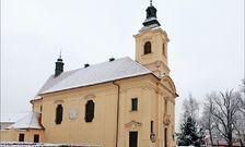 Kostel Nejsvětější Trojice v Dobříši