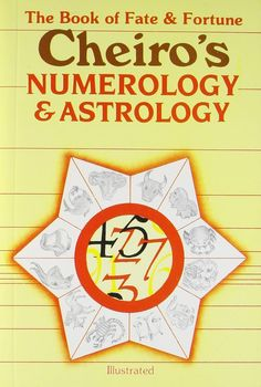 Cheiro's Numerology and Astrology: The Book of Fate and Fortune [Paperback] Name Astrology, Astrology Books, Numerology Numbers, Numerology Chart, Learning Patience, Learning To Be, What Is Birthday, Numerology Calculation, Number Meanings