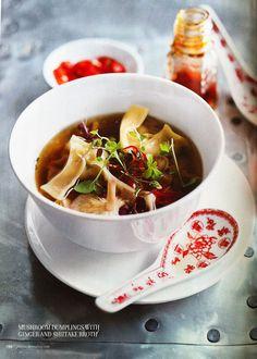 mushroom and dumplings