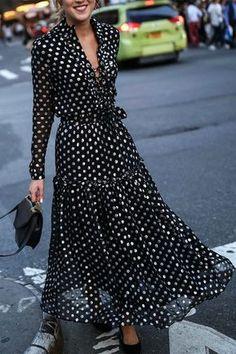 V-Neck Bohemia Style Fashion Vacation Dress 4519962bc232
