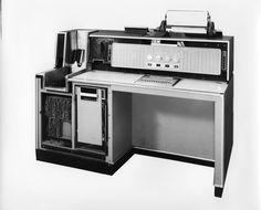 Vintage computer. IBM Data Processing System. 1960s.