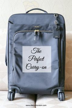 Lady's Perfect Carry-on Bag for Your Travels (scheduled via http://www.tailwindapp.com?utm_source=pinterest&utm_medium=twpin)