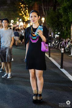 Name: Aki  Dress: Nanette Leopore  Shoes: Jeffrey Campbell  Bag: Chloe