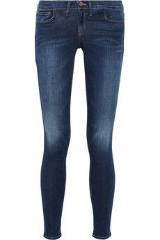 Frame Denim Le Skinny de Jeanne mid-rise jeans   NET-A-PORTER