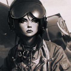 Aviator by Ilya Kuvshinov