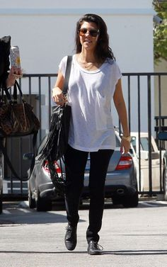 Kourtney. This outfit >