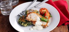 Creamy Pork Steaks With Potato And Cavolo Nero / Kale / Spinach Cakes Recipe - Sainsbury's   http://www.sainsburys-live-well-for-less.co.uk/recipes-inspiration/recipes/creamy-pork-steaks-with-potato-and-kale-cakes/