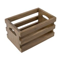 12698 Vintage Photo Crate - Stained 6x4x3.75 - perfect for holding 4x6 photos, file folders, cards, etc.  get your photos organized and pretty today. #gypsymoments