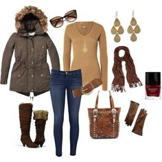 """Late Fall Outing"" by violetfemme-71 on Polyvore"