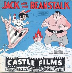 "Free: Vintage or Movie 'Jack and The Beanstalk"", 765 Castle Films 3 reel - Other DVDs & Movies 8mm Film, Jack And The Beanstalk, Projectors, Films, Movies, Vintage Antiques, Castle, Film, Film"