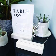 White Vinyl, White Wood, Wedding Signs, Wedding Table, Acrylic Table, Furniture Factory, Table Names, Merchandising Displays, Vinyl Lettering