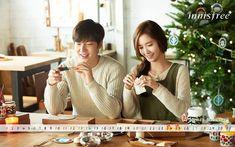 [HD] Lee Min Ho 이민호 & Yoona for Innisfree Green Christmas 2014 (Making)