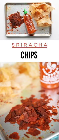 Here's How To Make Crispy Sriracha Chips _ Yet another way to put your favorite condiment on everything!
