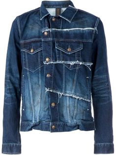 Mihara Yasuhiro Patchwork Denim Jacket - L'eclaireur - Farfetch.com