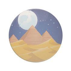 Pyramids Beverage Coasters