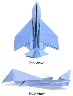 How to make origami airplane Origami Airplane, Airplane Fighter, How To Make Origami, Oragami, Jet Plane, Fighter Jets, Workshop, Diy, Ideas
