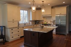 Small L-shaped Kitchen Island Designs with Range   Design options U Shape or L shape? - Kitchens Forum - GardenWeb