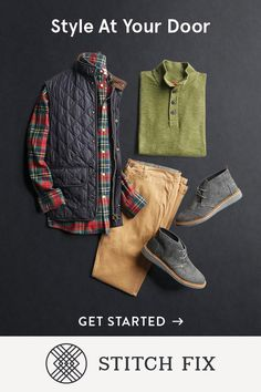 2018 is the year to own your look. And with a little help from Stitch Fix, it's easy. From work to weekend wear, Stitch Fix is your style partner, a time-saving, hassle-free way to get clothes handpicked to fit your style and budget, and delivered to your door. Keep what you like, send back the rest. Free shipping and returns. Easy, right?