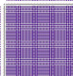 draft image: Karierte Muster Pl. VIII Nr. 5, Die färbige Gewebemusterung, Franz Donat, 2S, 2T