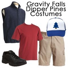 Gravity Falls Dipper Pines Costume - It's affordable and looks just like his outfit!