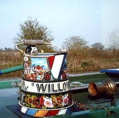 Boat Decorations, Roses And Castles, Collings, Buckby Can, Water Can
