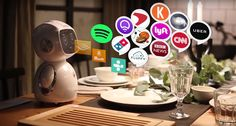 Amazon Alexa is now a small home robot thanks to Omate - https://www.aivanet.com/2016/11/amazon-alexa-is-now-a-small-home-robot-thanks-to-omate/