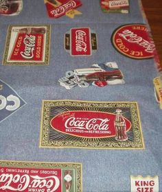 Coca Cola Fabric 2 Coke Bedding Amp Shower Curtains