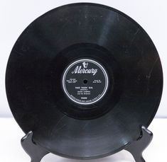 """1955 Mercury Records 10"""" 78 RPM, Shellac Single - David Carroll.  The two tracks are """"Two Timin' Gal"""" and """"Cecilia."""" - Play-Rated as G - $2.95"""