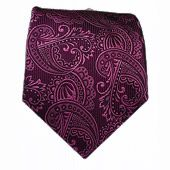 Twill Paisley - Wine || Ties - Wear Your Good Tie. Every Day - Twill Paisley - Wine Ties