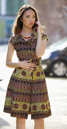 Countess ankara dress by GITAS PORTAL by GitasPortal on Etsy