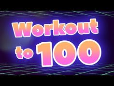 Count to 100 and Workout Counting Songs, Math Songs, Counting To 100, 100 Songs, Kids Songs, 100 Workout, Workout Songs, Preschool Learning, Preschool Activities