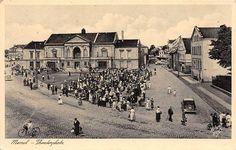 Klaipėda. Teatro aikštė, apie 1939 -1941 m. Atviruką išleido Fritz Krauskopf, Königsberg