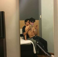 Gay, boy, and couple image Couple Goals, Couple Tumblr, Gay Romance, Gay Aesthetic, Cute Gay Couples, Lgbt Couples, Couples Images, Ulzzang Couple, Boys Like