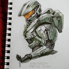 Master Chief 117 by SpartanB214