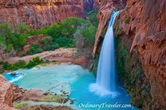Paradise in Arizona http://www.ordinarytraveler.com/articles/paradise-in-arizona-havasu-falls-photo-essay