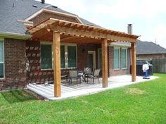 Custom Shade Arbor Builder in Houston designing beautiful patio ...