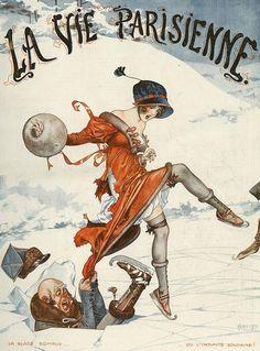 Illustration by Cheri Herouard      For La Vie Parisienne      1920