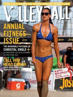 Volleyball Magazine January 2013 cover: Christal Engle