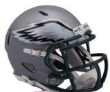 Philadelphia Eagles Full Size BLAZE Speed Replica Football Helmet