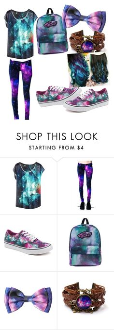 """out of this world"" by babykaely ❤ liked on Polyvore featuring Vans"